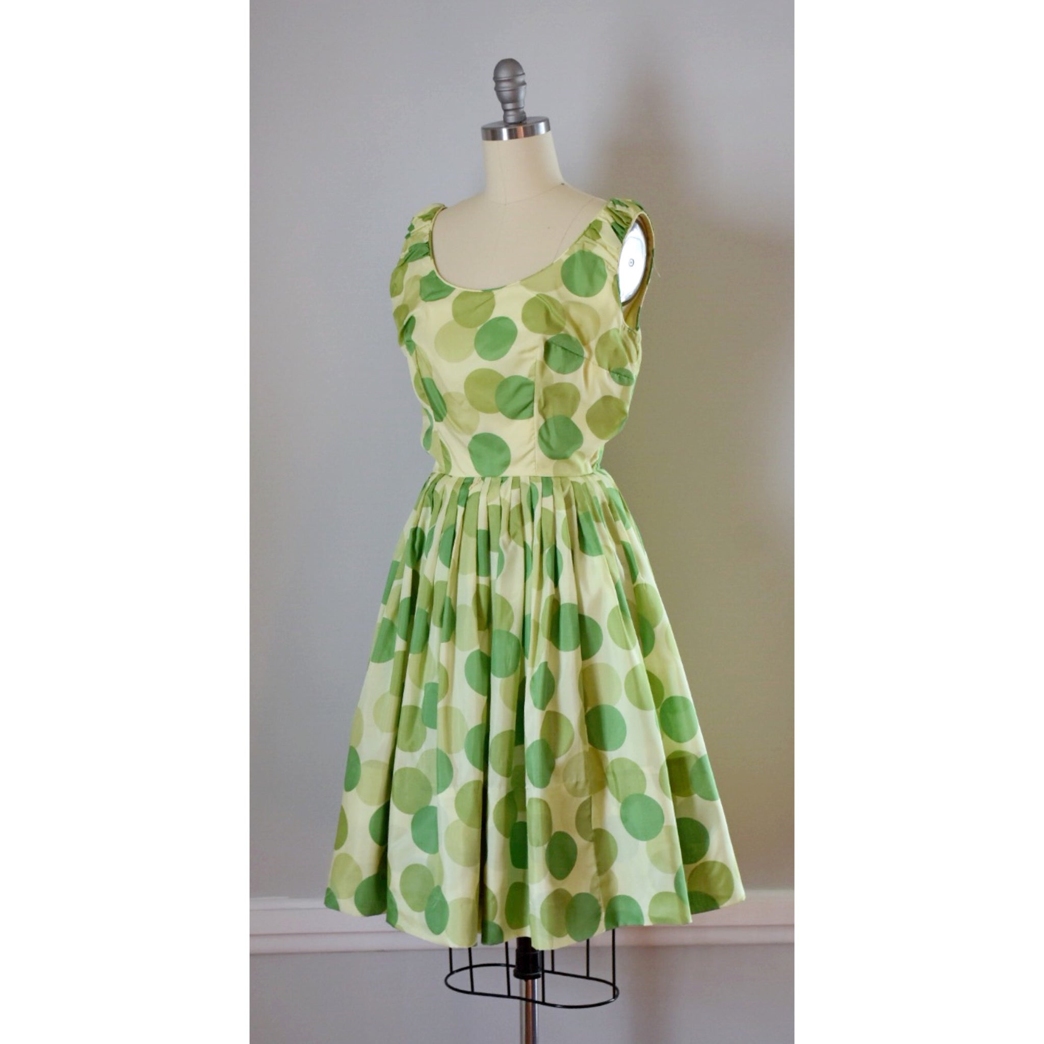 50s Vintage Polka Dot Dress
