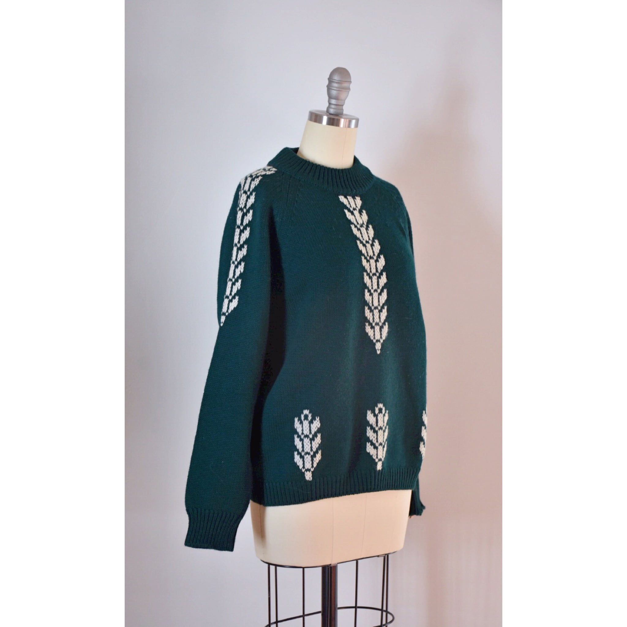 60s / 70s Vintage Alpine Wool Sweater