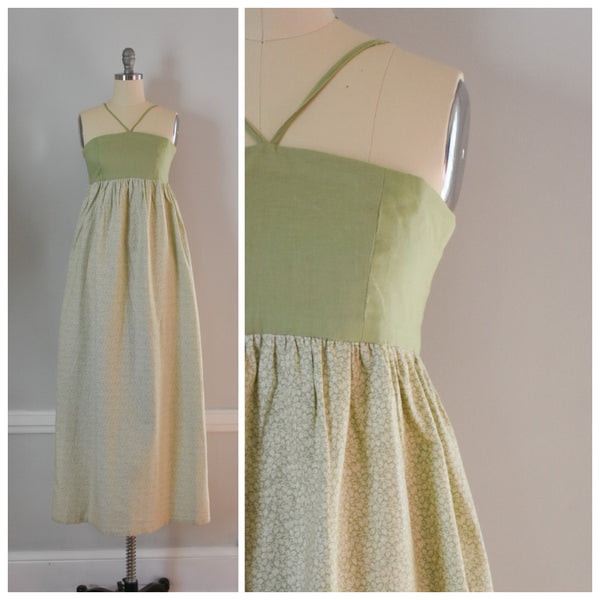 70s Vintage Maxi Dress from DuncanLovesTess.com