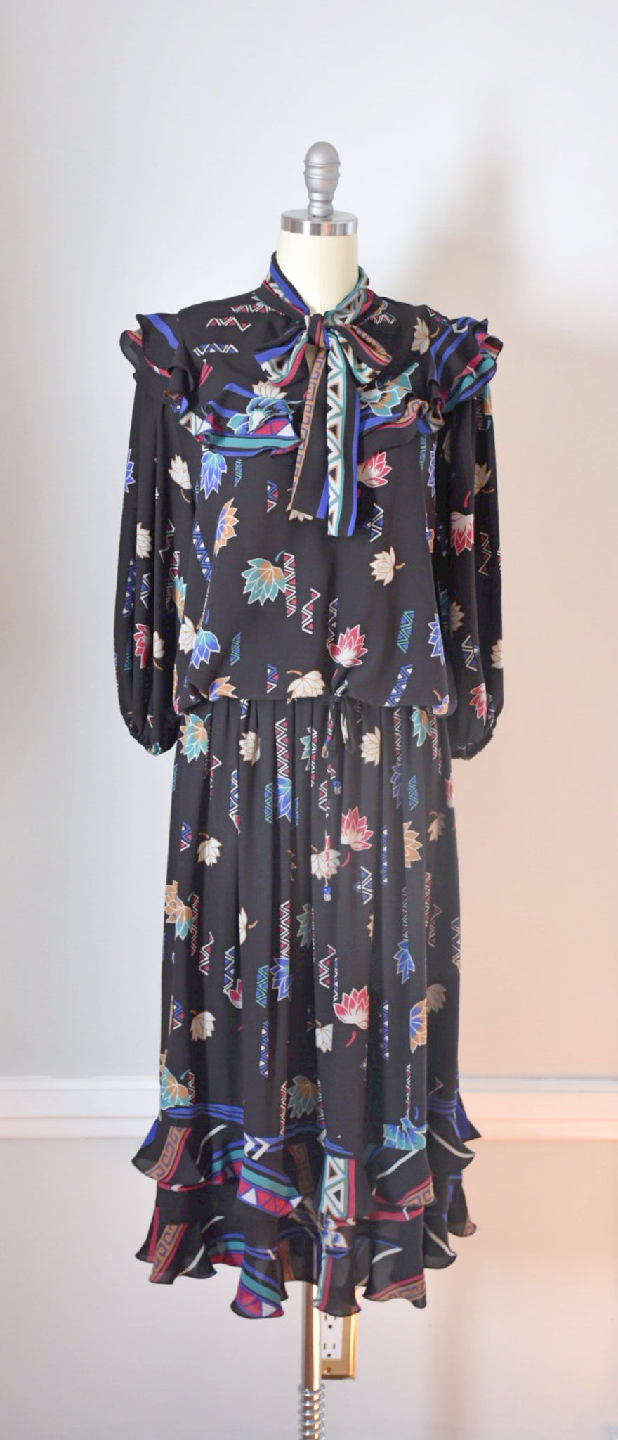80s Vintage Diane Freis Dress
