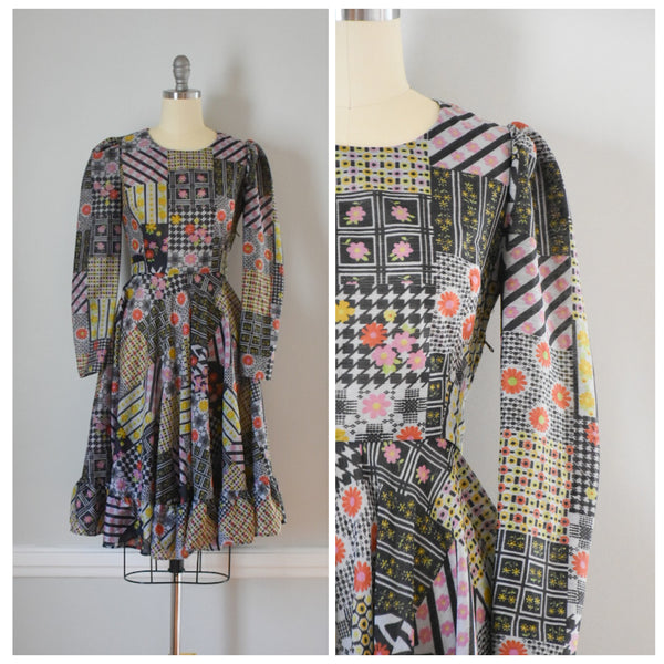 70s Vintage Peasant Style Dress from DuncanLovesTess.com