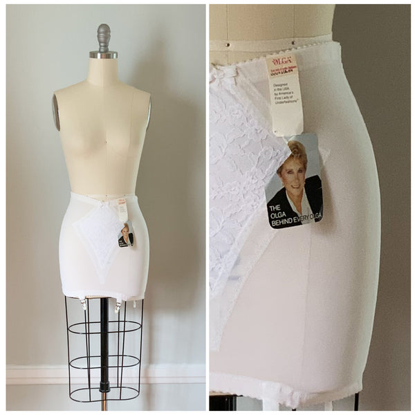 60s Vintage Olga Girdle with Garters from DuncanLovesTess.com