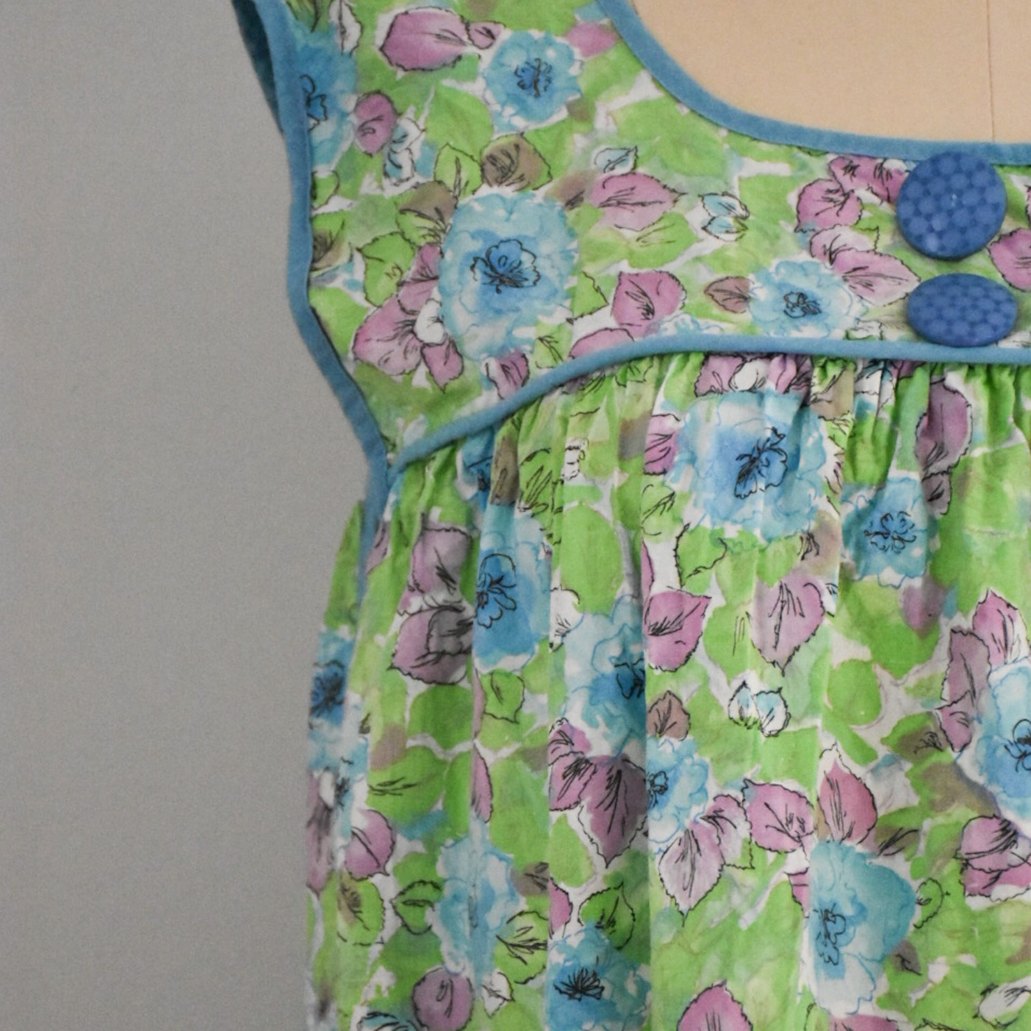 60s Vintage Housedress