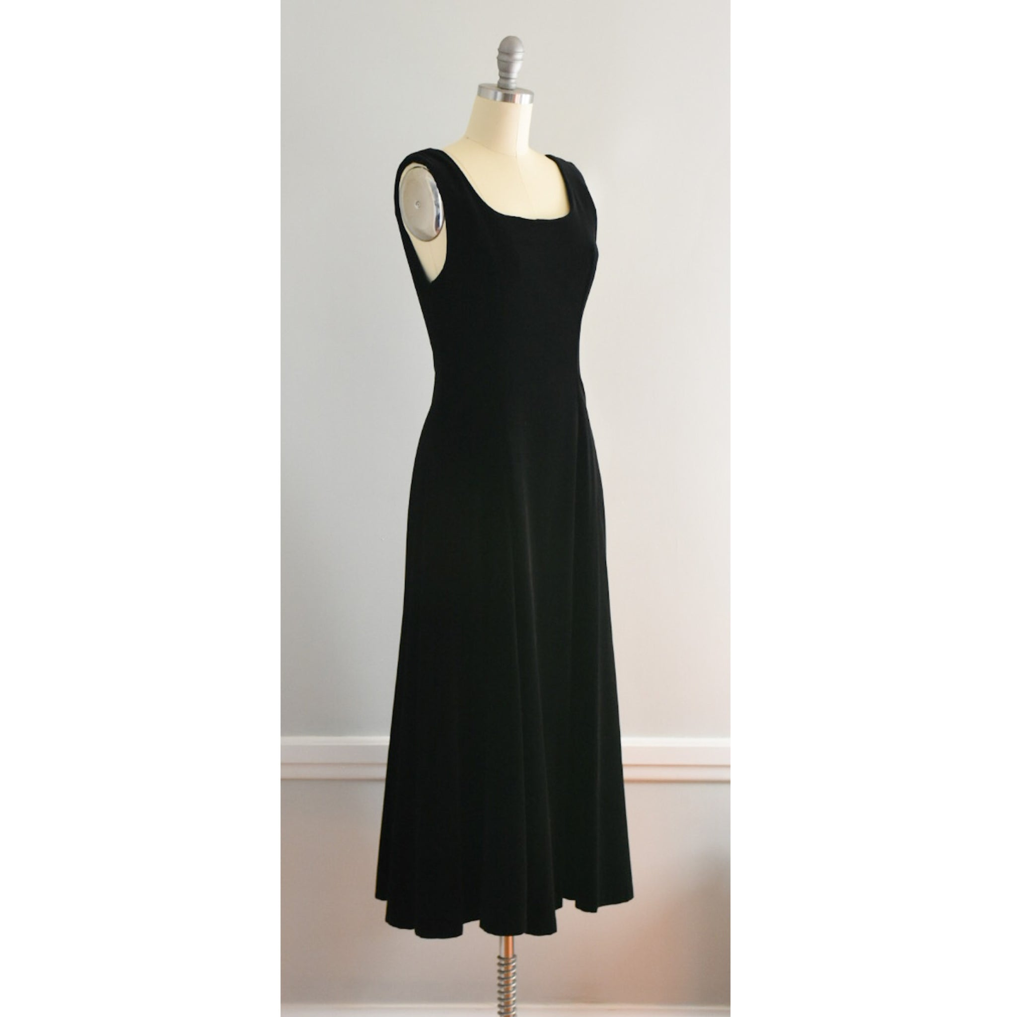 80s / 90s Laura Ashley Velvet Dress