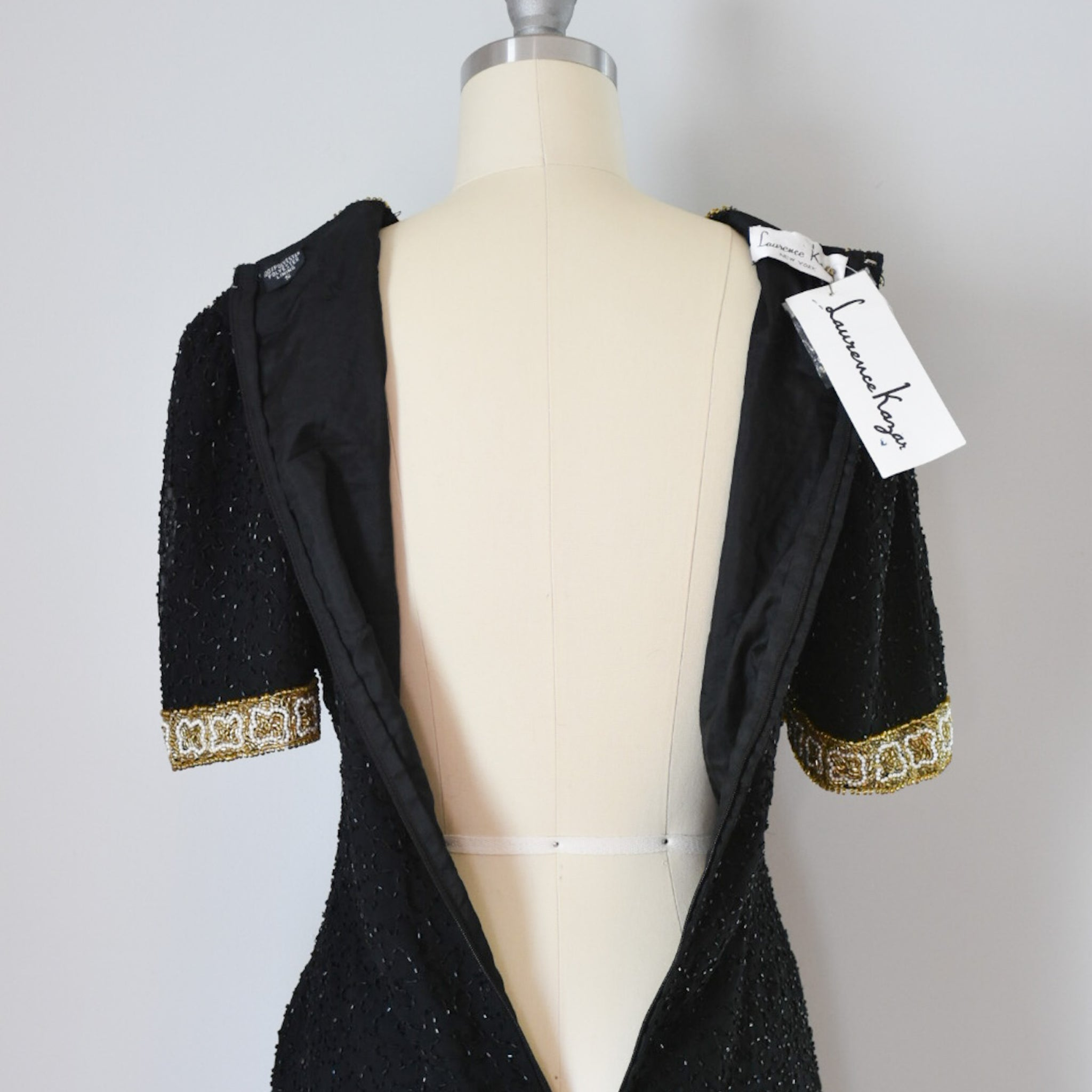 80s Beaded Laurence Kazar