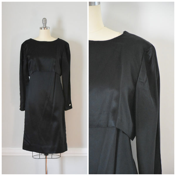 50s / 60s Black Sheath Dress from DuncanLovesTess.com