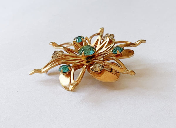40s Retro Brooch