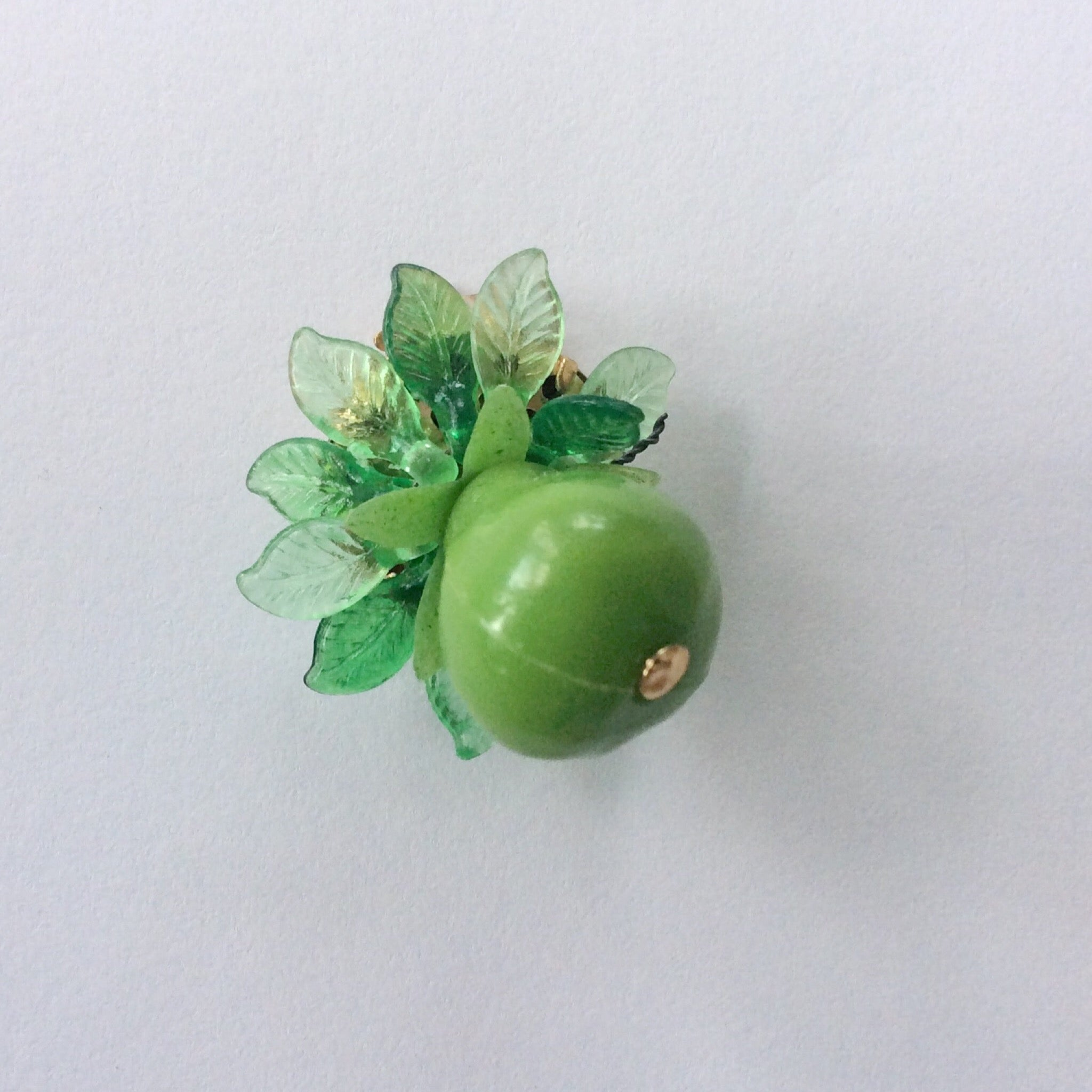 50s Vintage Fruit Cluster Earrings