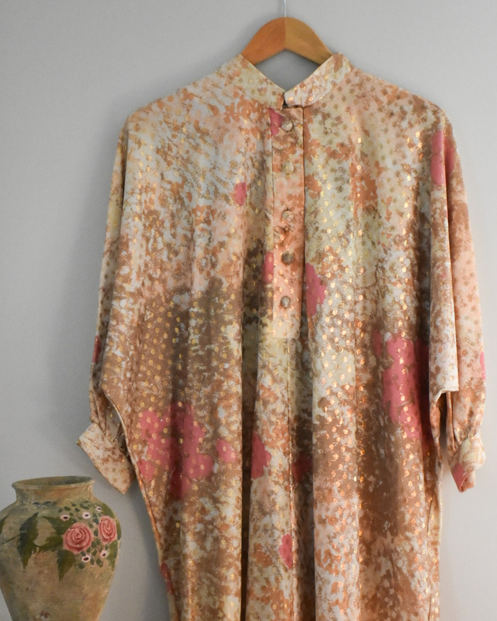 60s / 70s Vintage Lounge Craft Kaftan