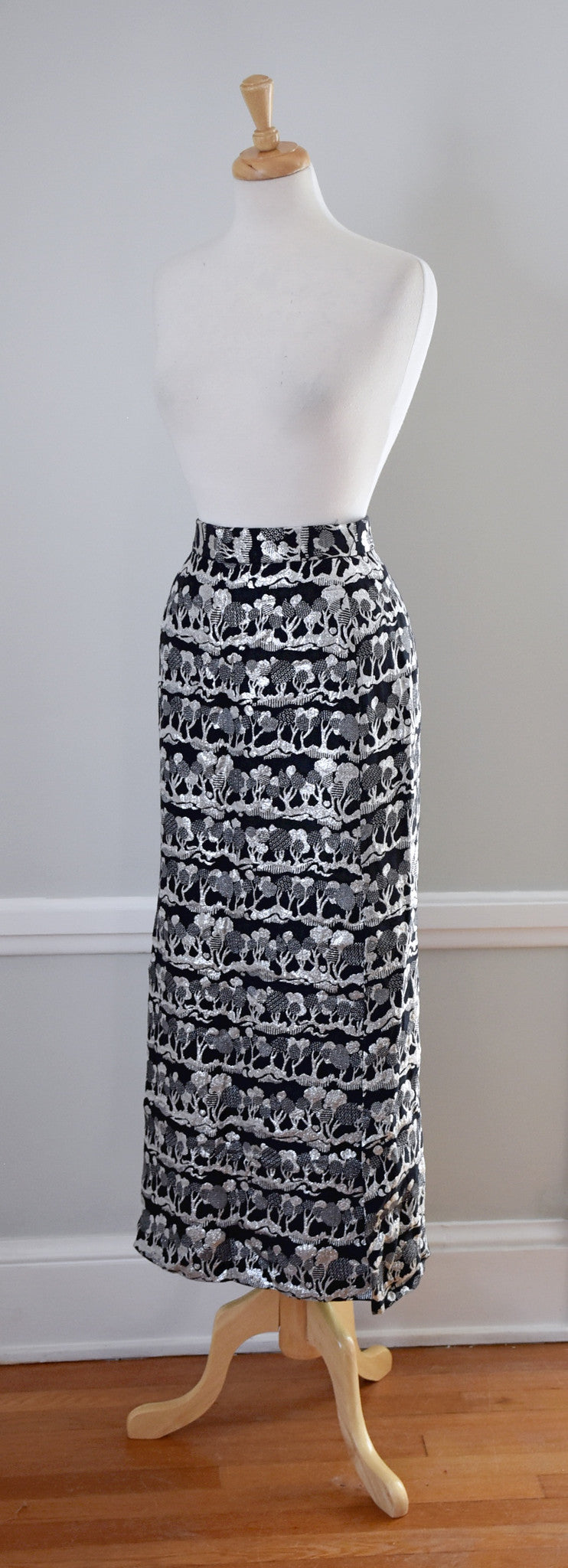 60s Elinor Gay Maxi Skirt