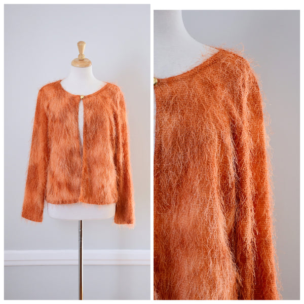 70s fuzzy sweater
