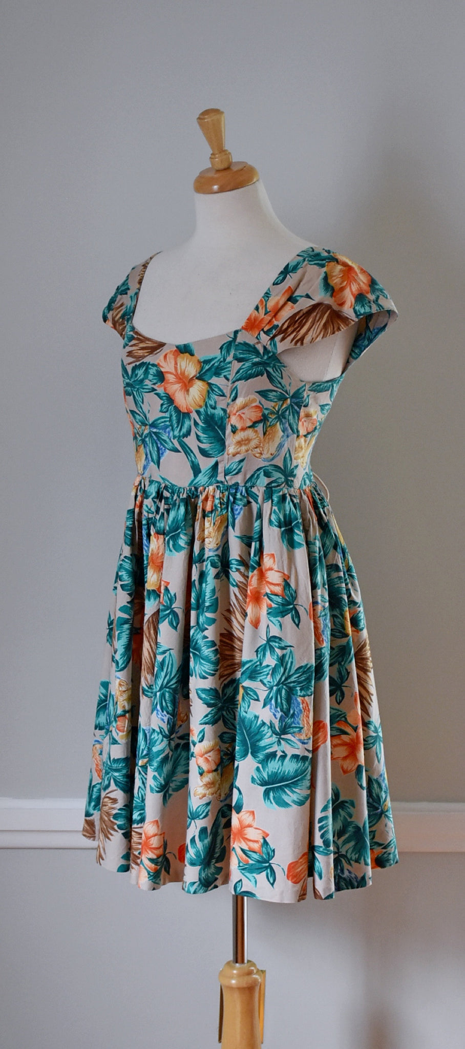 80s Cotton Sundress