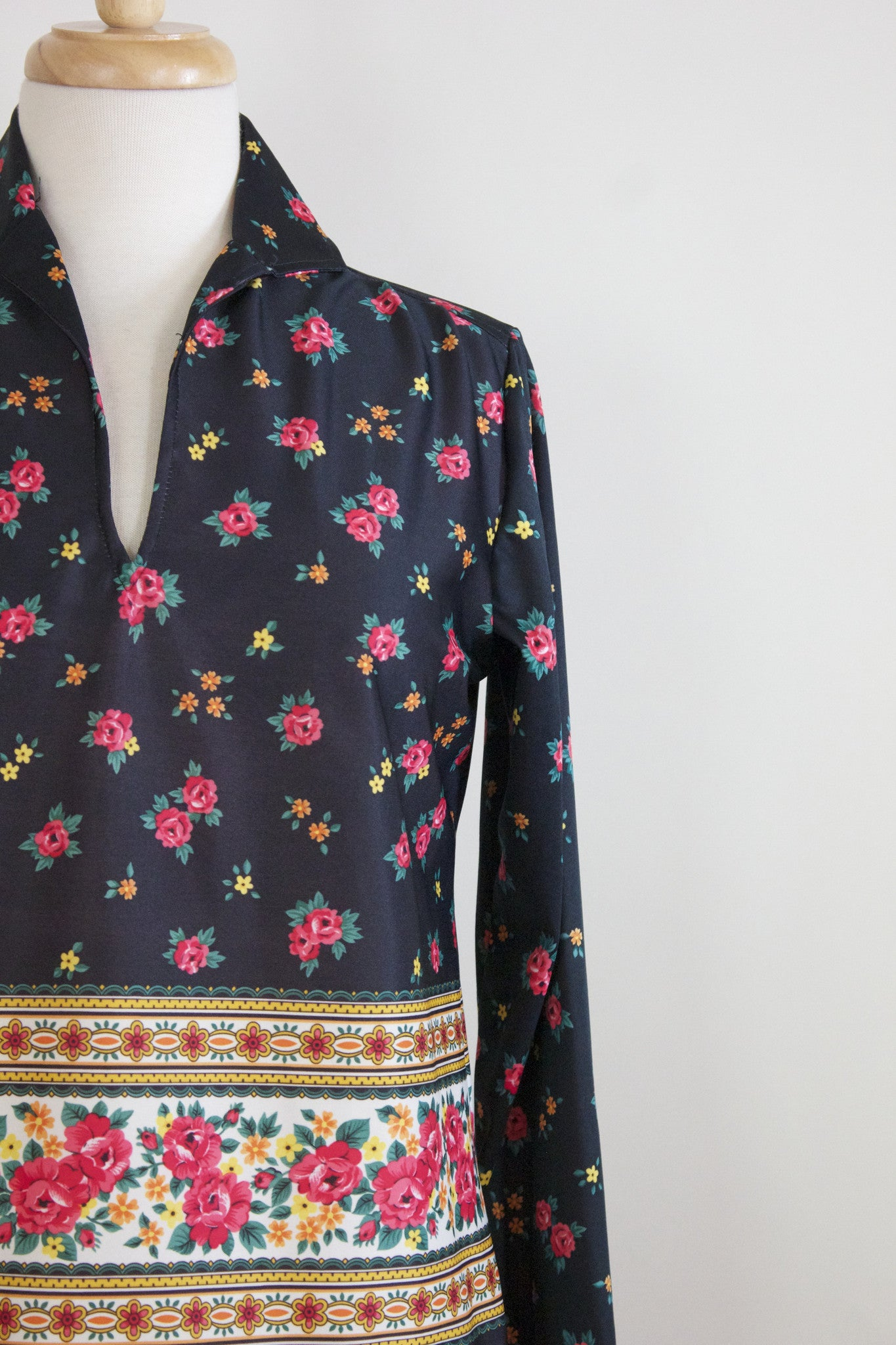 60s Polyester Top