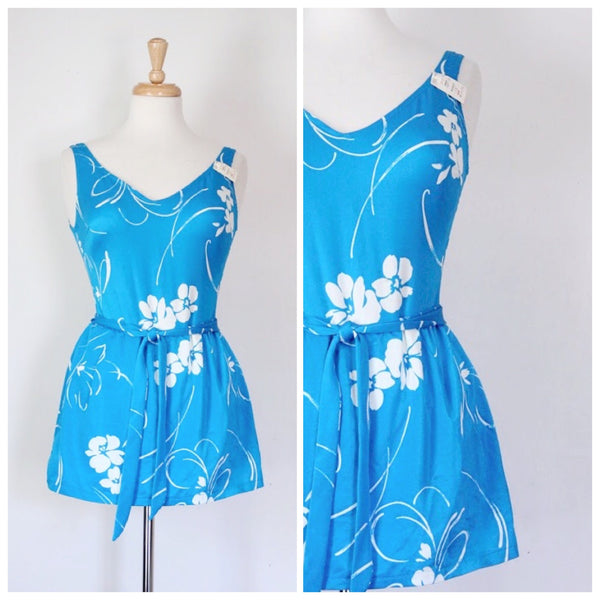 60s / 70s Skirted Swimsuit