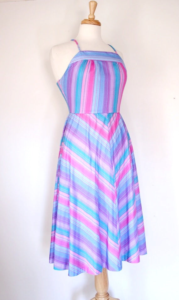 70s Cevron Dress
