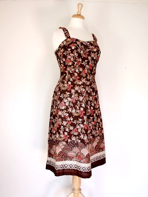 70s Vintage Sundress
