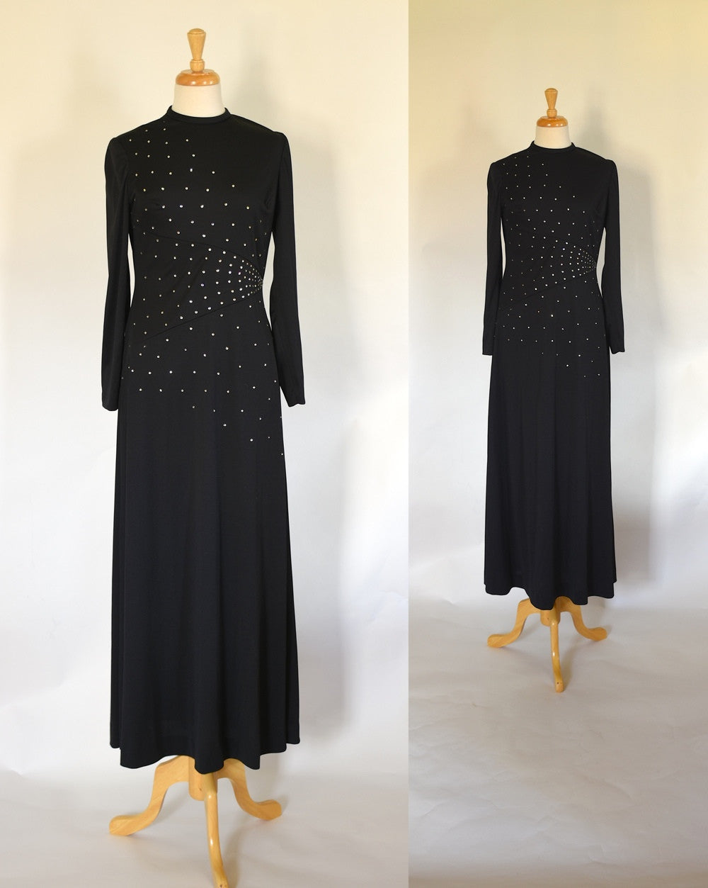 70s Rhinestone Dress