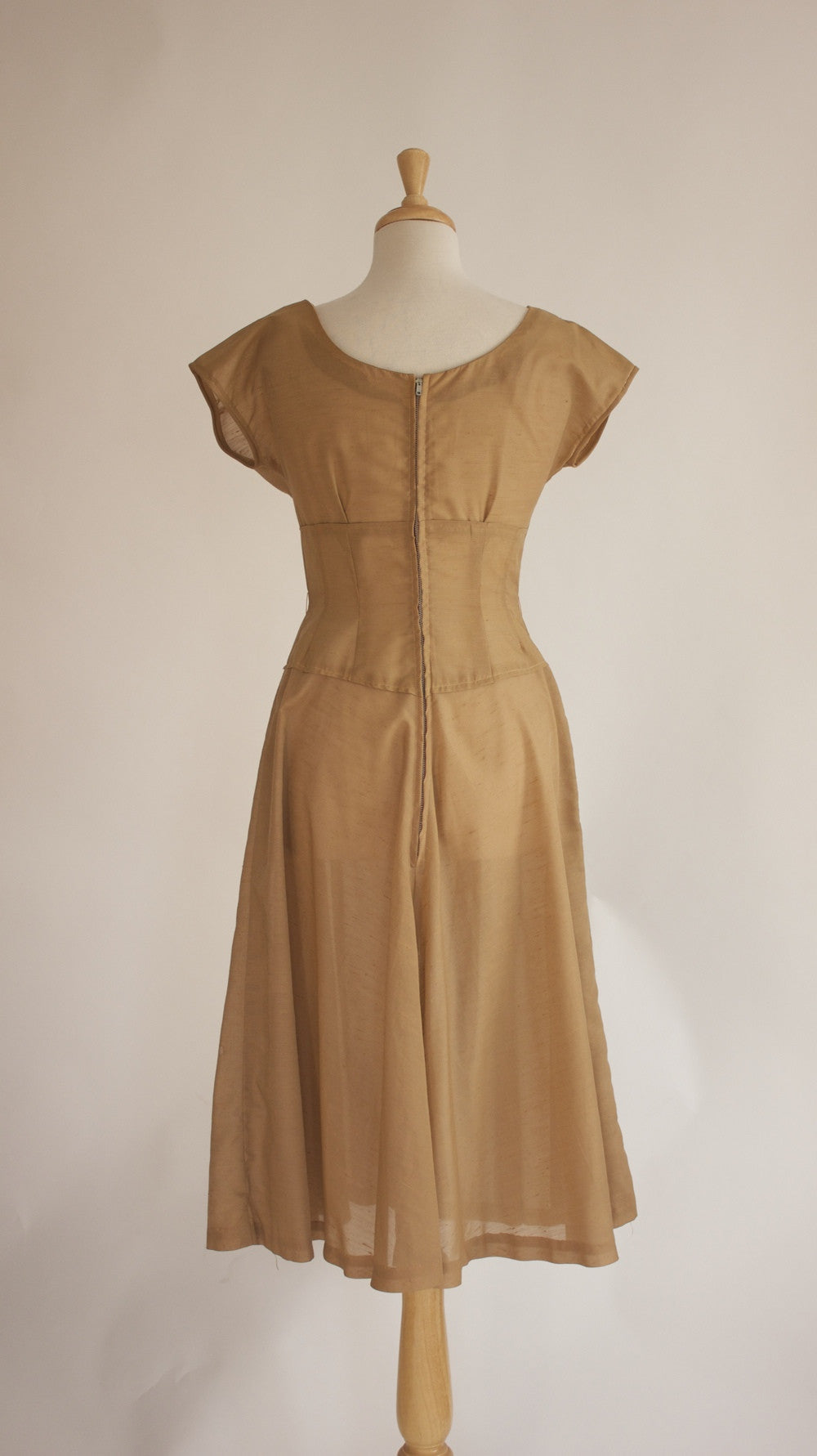 50s Sheer Rockabilly Dress
