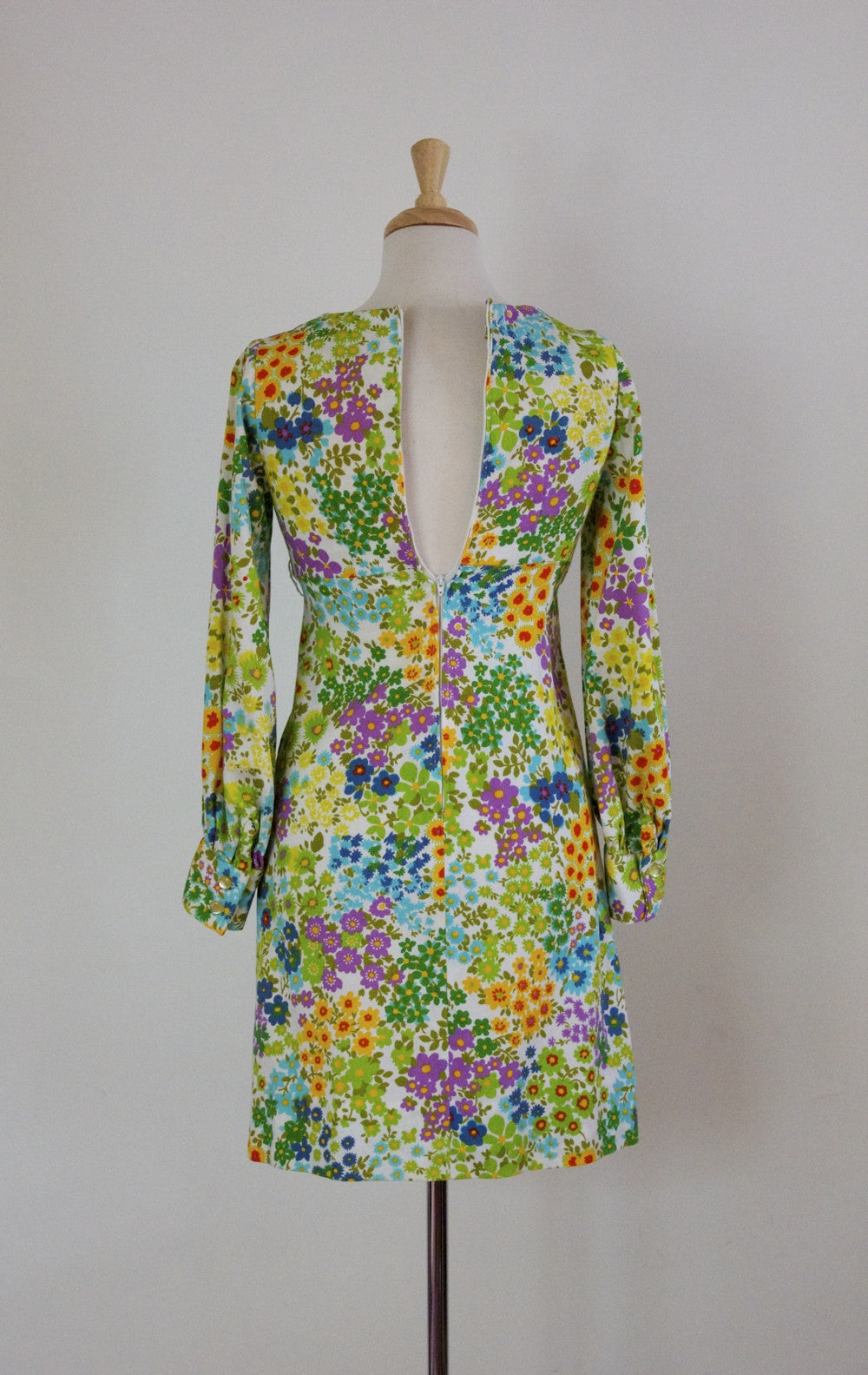 60s Mod Mini Dress