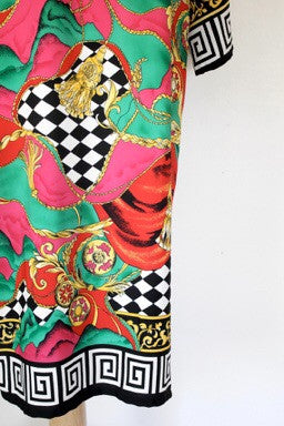 80s Glam Caftan Dress