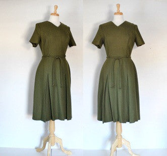50s fit and flare dress