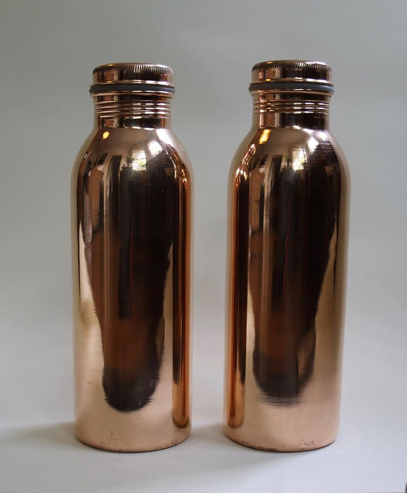COPPER WATER BOTTLE, WIDE MOUTH (2081)