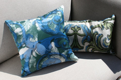 Pillow - Acanthus Scroll - three colorways