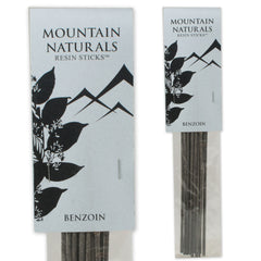 Mountain Naturals Resin Incense Sticks