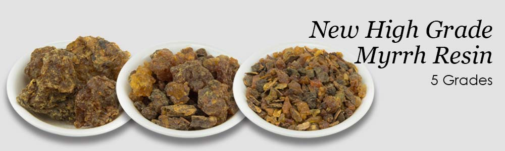 High-Grade Myrrh Gum Resin Incense