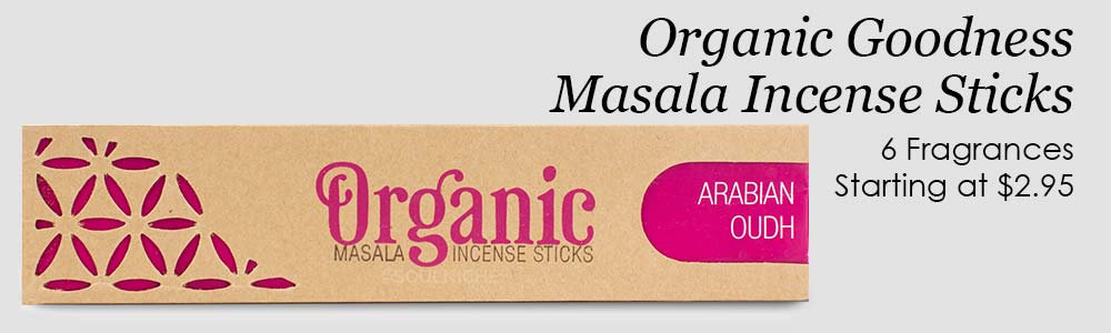Organic Goodness Masala Incense Sticks