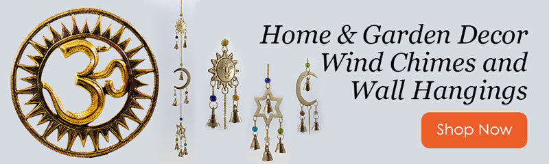 Wind Chimes & Om Wall Hangings