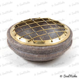 Soapstone Mesh Charcoal Incense Burner
