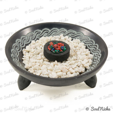 Soapstone Charcoal Incense Burner 58