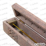 Soapstone Coffin Box Incense Burner
