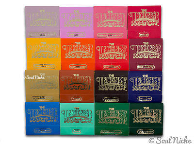 Incense Matches - Complete Set of 16