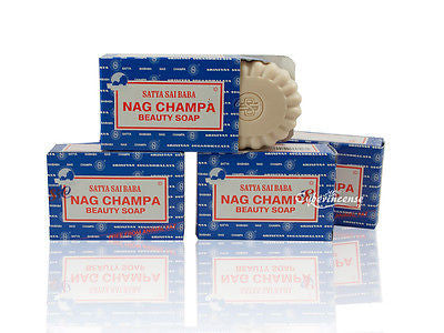 4-Pack Nag Champa Beauty Soap (75 Gram)