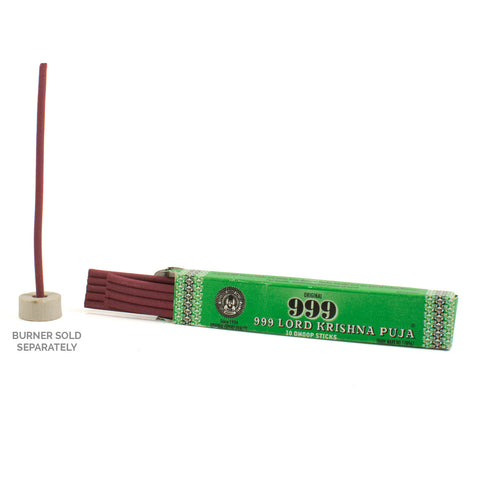999 Lord Krishna Puja Dhoop Incense Sticks (King Size)