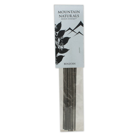 Benzoin Resin Incense Sticks - by Mountain Naturals