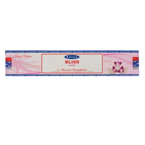 Bliss - Yoga Series Nag Champa Incense Sticks