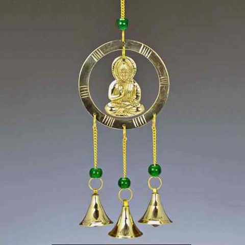 Buddha Wind Chime with Beads