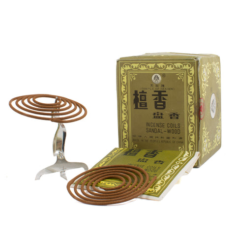 Temple of Heaven Sandalwood Incense Coils