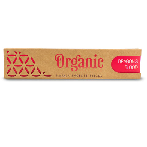 Dragon's Blood - Organic Goodness Masala Incense Sticks