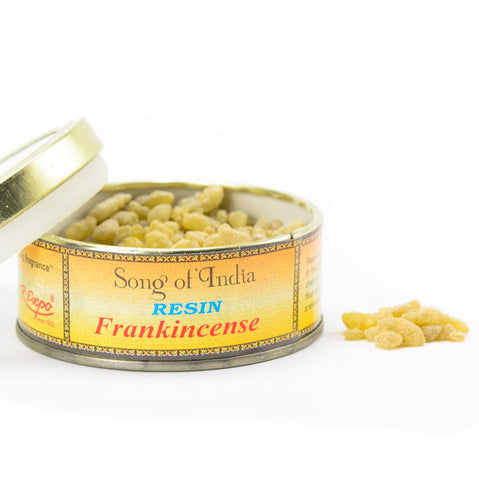 Frankincense Resin Incense Blend Tin - by Song of India