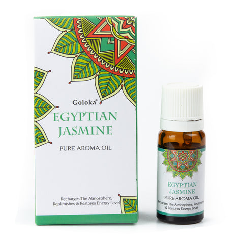 Goloka Pure Aroma Oil - Egyptian Jasmine 10ml