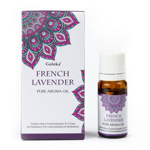 Goloka Pure Aroma Oil - French Lavender 10ml
