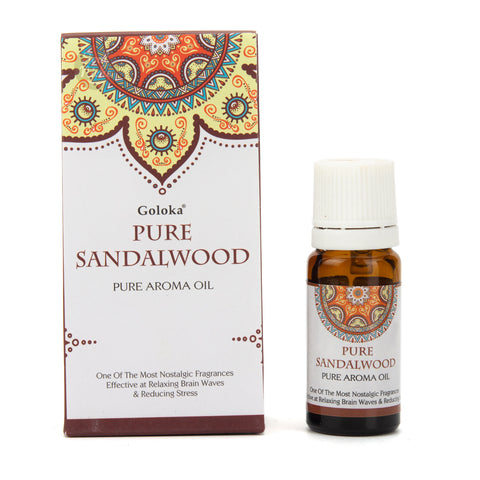 Goloka Pure Aroma Oil - Pure Sandalwood 10ml