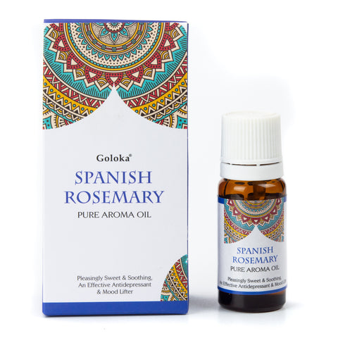 Spanish Rosemary - Goloka Pure Aroma Oil