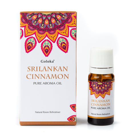Goloka Pure Aroma Oil - Sri Lankan Cinnamon 10ml