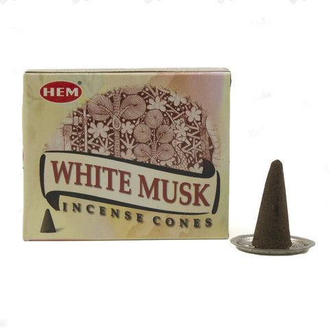 Hem White Musk Incense Cones