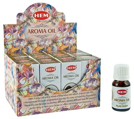Hem Mystic Amber Aroma Oil (10ml) - 1 Bottle